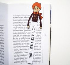 Ron Weasley (Harry Potter series ) printable bookmark - you will get a digital file for printing bookmark, 300 dpi high resolution, jpg and pdf format. Instant download, ready for printing on ink or laser jet printer.  ITS EASY! 1. You can print it on thick paper or on normal paper (and matt laminate on both sides for durability). 2. Cut out two elements of bookmark. 3. Put them together by glue or double-sided tape. 4. Ready to use!  Terms of use: These images are for personal use. You may…