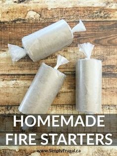 Get your summer fun underway with these easy homemade fire starters using items you have on hand already! Perfect for the backyard bonfire or the weekend campfire! All You Need Is, Just In Case, Bushcraft, Homemade Fire Starters, Homemade Lanterns, Camping Fire Starters, Paper Fire, Diy Gifts For Men, Camping Hacks
