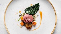 Lamb with Creamed Kale and Roasted Pumpkin | FOUR Magazine