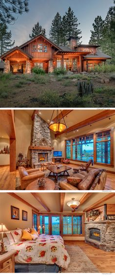 Mountain dreaming at this stunning Truckee home near Lake Tahoe. Live the mountain lifestyle in pure luxury.