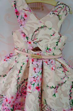 Vestido de Festa Infantil Antonela - Petit Cherie