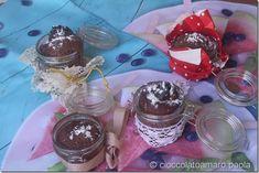 cioccolato amaro: tortini in barattolo con sorpresa