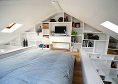 小巧夢幻的閣樓住宅空間 – Craft Design