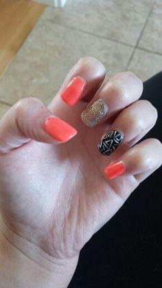 June 2014 My Nails, Class Ring, June, Beauty, Jewelry, Beleza, Jewlery, Jewels, Cosmetology