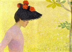 Аристид Майоль (фр. Aristide Maillol) (1861–1944) Профиль девушки