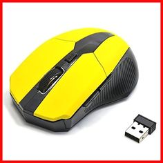 Color : Black XIAMEND 2.4G Wireless Mouse Wireless Optical Laptop Mouse with USB