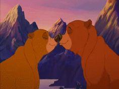 Walt Disney, Bambi Disney, Disney Couples, Disney Fan Art, Disney And Dreamworks, Disney Magic, Disney Pixar, Disney Style, Kenai Brother Bear