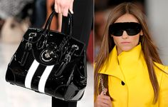 """""""For Spring 2014, my accessory collections are about a clean, graphic boldness creating a new dimension redefining modern classics."""" -Ralph Lauren"""
