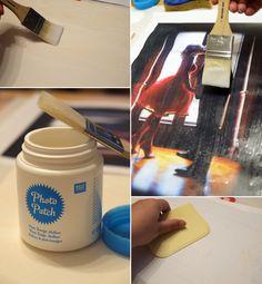 Do it yourself - Fotos auf Holz übertragen DIY