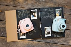 polaroid guest book - snap it | shake it | stock it | sign it