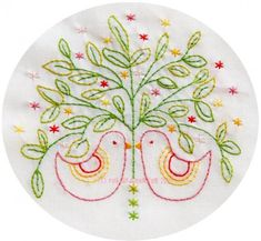 Lots of interesting embroidery patterns.