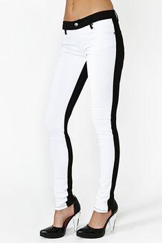 Bright Shade Skinny Jean