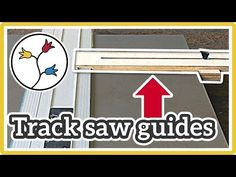 TRACK SAW parallel guides: YOU NEED THIS for easy repeatable cuts - YouTube