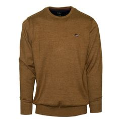 "Ανδρική Μπλούζα Πλεκτή ""Dakota"" Oxygen λαιμόκοψη Knitwear, Men Sweater, Long Sleeve, Sleeves, Sweaters, Mens Tops, T Shirt, Collection, Fashion"