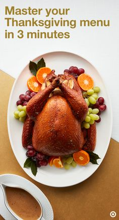 Take your Thanksgiving meal to a whole new level with our Thanksgiving Meal Planner quiz. Just answer three simple questions and we'll serve up a curated board of recipe ideas. From there, you can narrow down your faves and get to making without any hassle. Be sure to have the details close by because the recipe requests won't stop once everyone digs in.