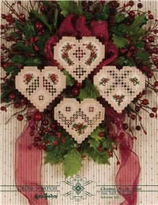 Christmas In My Heart 2006-2009 Hardanger Patterns