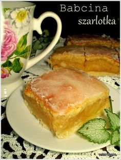 Polish Recipes, Polish Food, Apple Cake, Pumpkin Spice Latte, Carrots, Vegetarian Recipes, French Toast, Sandwiches, Food And Drink