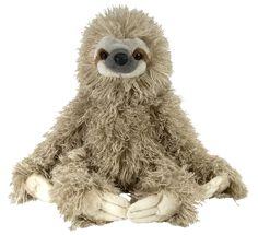 "Amazon.com: Wild Republic Cuddlekin Three Toed Sloth 12"" Plush: Toys & Games CHRISTMAS GIFT PLEASEEEEE"