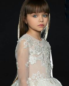 Anastasia Knyazeva, Little Girls, Wedding Dresses, Model, Fashion, Baby Girl Pictures, Baby Girls, Pictures Of Babies, Hair Coloring