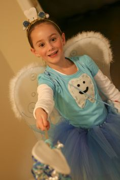 Tooth Fairy costume idea for Olive