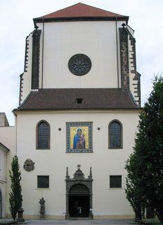 Czech Republic ,Bohemia,Prague. Our Lady of the Snow.