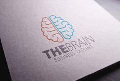 Brain Logo by eSSeGraphic on Creative Market