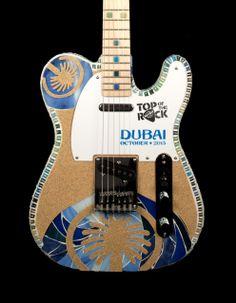 Top of the Rock Guitar Hard Rock Cafe Dubai #hardrock