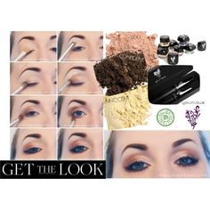 """#Younique """"GET THE LOOK"""""""" by melissa-pellerin on #Polyvore... Here's a great look you can achieve with the Younique pigment Mineral eye pigment and don't forget the 3D Fiber Lashes!!!"""