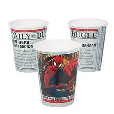 Ultimate Spider-Man Cups - OrientalTrading.com