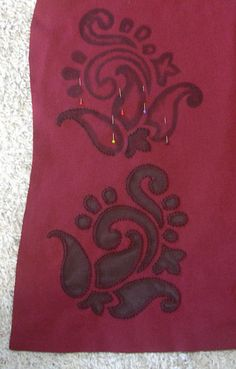 Red/Brown Paisley T-Shirt, B by Grey Listening, via Flickr