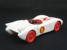 Mach 5 Racer that I have been dying to try to make for pinewood derby