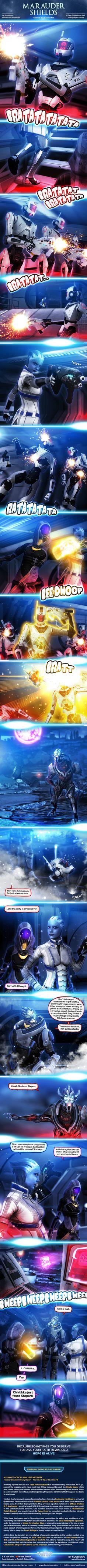 Marauder Shields 32: Hard To Kill (Mass Effect) by koobismo.deviantart.com on @DeviantArt