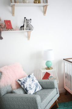 Whimsical Boho Inspired Nursery for a Little Girl - Project Nursery