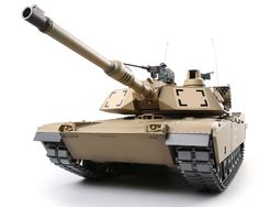 df6f8638a043 Henglong Remote Control Tank - Replica of the M1A2 Abrams USA Main Battle  Tank - 1