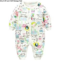 Baby Rompers Fashion Baby Girls Clothes Long-sleeve Animal Printing Baby Jumpsuit Kids Clothing Newborn suit