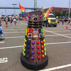 Daleks showing some humanity for once... with PRIDE!