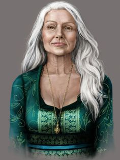 Dolores -old hunter who became a witch and lives at camp nephilm  she doesn't take crap from anyone  she has a terrible past and people she's lost and a great love