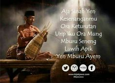 IHM - Nrimo ing pandum Doa Islam, Islamic Quotes, Religion, Life Quotes, Javanese, Wisdom, Positivity, Messages, Humor