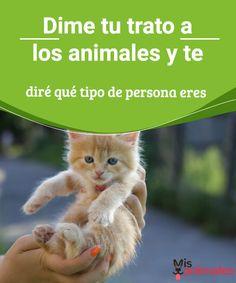 Dime tu trato a los animales y te diré qué tipo de persona eres Si alguna vez has conocido a personas que dedican su vida a cuidar y proteger a los animales, sin duda te has sentido atraído por su dulce personalidad. #trato #animales #personalidad #consejos