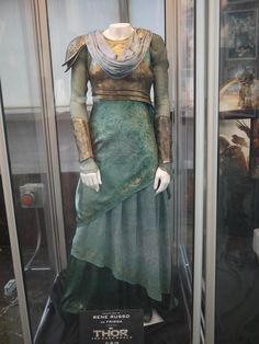 Costume worn by Rene Russo as Frigga in the film 'Thor: The Dark World'