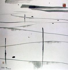 Wu Guanzhong(吴 冠中 Chinese, 1919-2010) 水田 2005 More