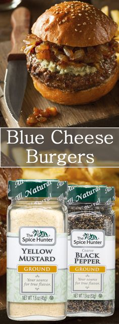 Don't settle for run-of-the-mill hamburgers. Jazz up your cookout menu with our blue cheese burgers with chives and sundried tomatoes!  https://www.spicehunter.com/recipes/blue-cheese-burgers-with-chives-and-sun-dried-tomatoes/