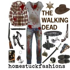 """""""The Walking Dead"""" by hollowzo on Polyvore"""