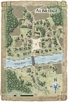 its a Map of Albridge: