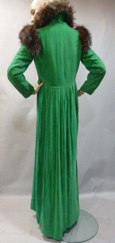 Evening coat, Elsa Schiaparelli, circa 1932.