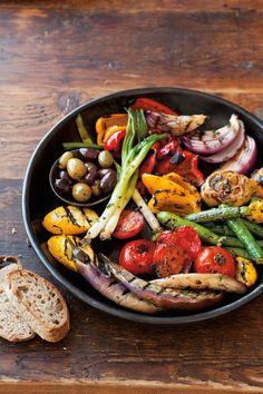 Grilled veg - takes some time to do but if you make it in big batches you can use leftovers in salads or frittatas
