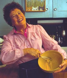 """The only real stumbling block is fear of failure. In cooking you've got to have a what-the-hell attitude."" Julia Child"