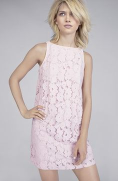 BB Dakota 'Savvanah' Lace Shift Dress   Nordstrom