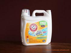 オキシクリーン配合の液体洗剤オキシクリーンマックス!注意点や実際に使って気づいたこと