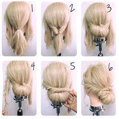 Exquisite Hair Updo Tutorial